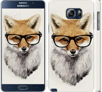Чехол на Samsung Galaxy Note 5 N920C Лис в очках