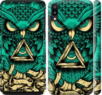 Чехол на Samsung Galaxy M10 Сова Арт-тату