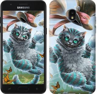 Чехол на Samsung Galaxy J7 2018 Чеширский кот 2