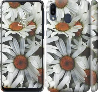 Чехол на Samsung Galaxy M20 Ромашки v2
