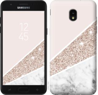 Чехол на Samsung Galaxy J7 2018 Пастельный мрамор