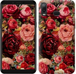 Чехол на Samsung Galaxy A6s Цветущие розы