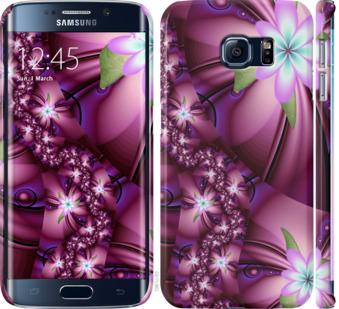 Чехол на Samsung Galaxy S6 Edge G925F Цветочная мозаика