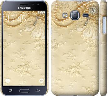 Чехол на Samsung Galaxy J3 Duos (2016) J320H Кружевной орнамент