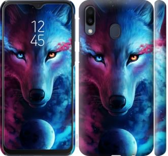 Чехол на Samsung Galaxy M20 Арт-волк