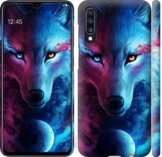 Чехол на Samsung Galaxy A70 2019 A705F Арт-волк
