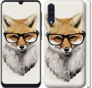 Чехол на Samsung Galaxy A50 2019 A505F Лис в очках