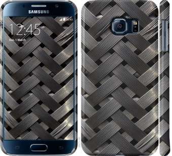 Чехол на Samsung Galaxy S6 G920 Металлические фоны