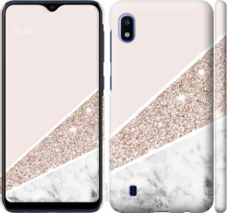Чехол на Samsung Galaxy A10 2019 A105F Пастельный мрамор