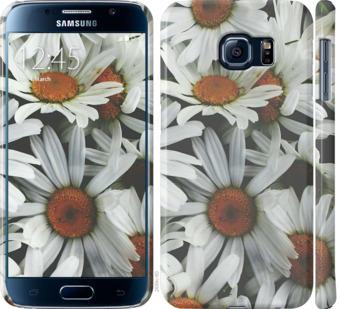 Чехол на Samsung Galaxy S6 G920 Ромашки v2