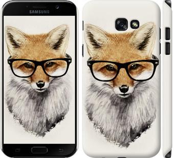 Чехол на Samsung Galaxy A7 (2017) Лис в очках