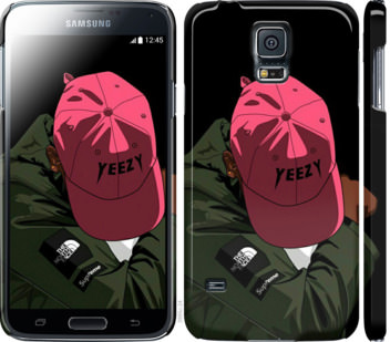 Чехол на Samsung Galaxy S5 g900h logo de yeezy