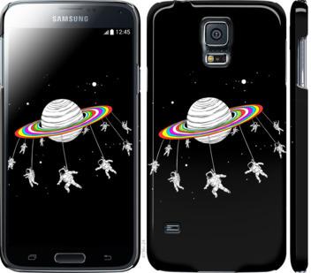 Чехол на Samsung Galaxy S5 g900h Лунная карусель