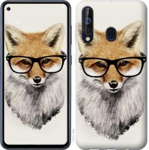 Чехол на Samsung Galaxy A60 2019 A606F Лис в очках