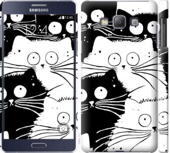 Чехол на Samsung Galaxy A7 A700H Коты v2