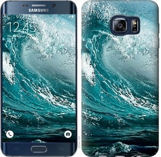 Чехол на Samsung Galaxy S6 Edge Plus G928 Морская волна