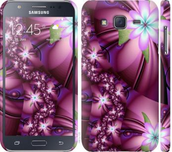 Чехол на Samsung Galaxy J5 (2015) J500H Цветочная мозаика
