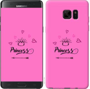 Чехол на Samsung Galaxy Note 7 Duos N930F Princess