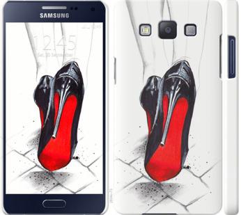 Чехол на Samsung Galaxy A5 A500H Devil Wears Louboutin