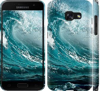 Чехол на Samsung Galaxy A3 (2017) Морская волна