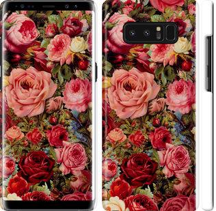 Чехол на Samsung Galaxy Note 8 Цветущие розы