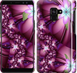 Чехол на Samsung Galaxy A8 2018 A530F Цветочная мозаика