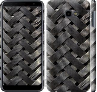 Чехол на Samsung Galaxy J4 Plus 2018 Металлические фоны