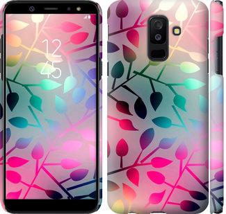 Чехол на Samsung Galaxy A6 Plus 2018 Листья