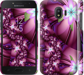 Чехол на Samsung Galaxy J2 2018 Цветочная мозаика