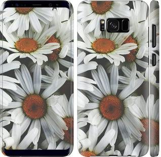 Чехол на Samsung Galaxy S8 Plus Ромашки v2