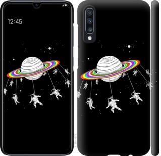 Чехол на Samsung Galaxy A70 2019 A705F Лунная карусель