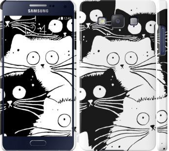 Чехол на Samsung Galaxy A5 A500H Коты v2