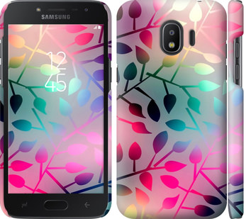 Чехол на Samsung Galaxy J2 2018 Листья