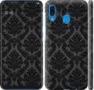 Чехол на Samsung Galaxy A20 2019 A205F Винтажный узор