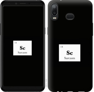Чехол на Samsung Galaxy A6s Сарказм