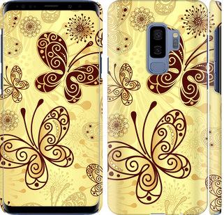 Чехол на Samsung Galaxy S9 Plus Красивые бабочки