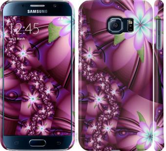 Чехол на Samsung Galaxy S6 G920 Цветочная мозаика