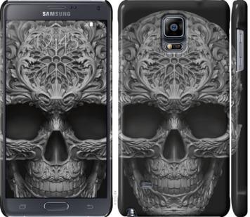 Чехол на Samsung Galaxy Note 4 N910H skull-ornament