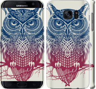 Чехол на Samsung Galaxy S7 Edge G935F Сова 2