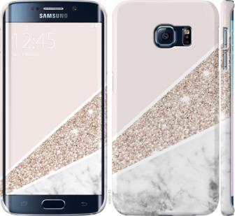 Чехол на Samsung Galaxy S6 Edge G925F Пастельный мрамор