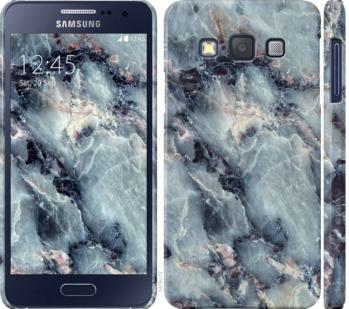 Чехол на Samsung Galaxy A3 A300H Мрамор