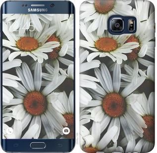 Чехол на Samsung Galaxy S6 Edge Plus G928 Ромашки v2