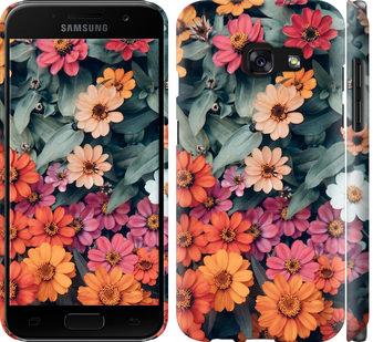 Чехол на Samsung Galaxy A3 (2017) Beauty flowers
