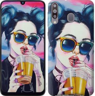 Чехол на Samsung Galaxy M30 Арт-девушка в очках