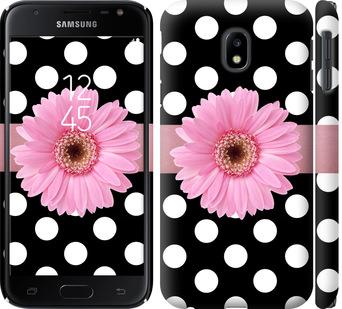 Чехол на Samsung Galaxy J3 (2017) Горошек 2