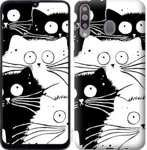 Чехол на Samsung Galaxy M30 Коты v2