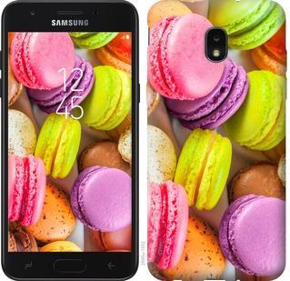 Чехол на Samsung Galaxy J7 2018 Макаруны