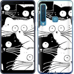 Чехол на Samsung Galaxy A9 (2018) Коты v2