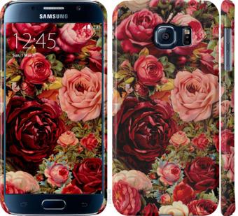 Чехол на Samsung Galaxy S6 G920 Цветущие розы