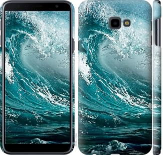 Чехол на Samsung Galaxy J4 Plus 2018 Морская волна